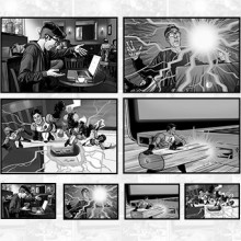 "View ""Storyboard illustration services"""